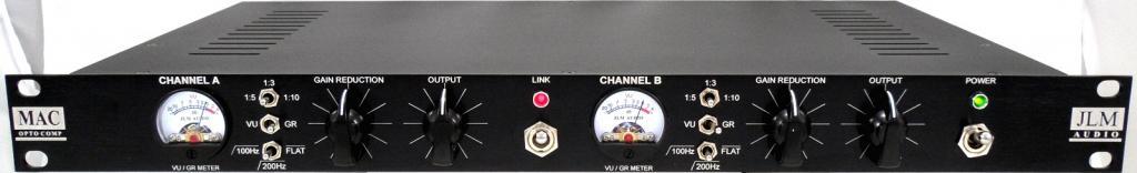 JLM Audio Equipment MAC Stereo Opto Compressor Rack