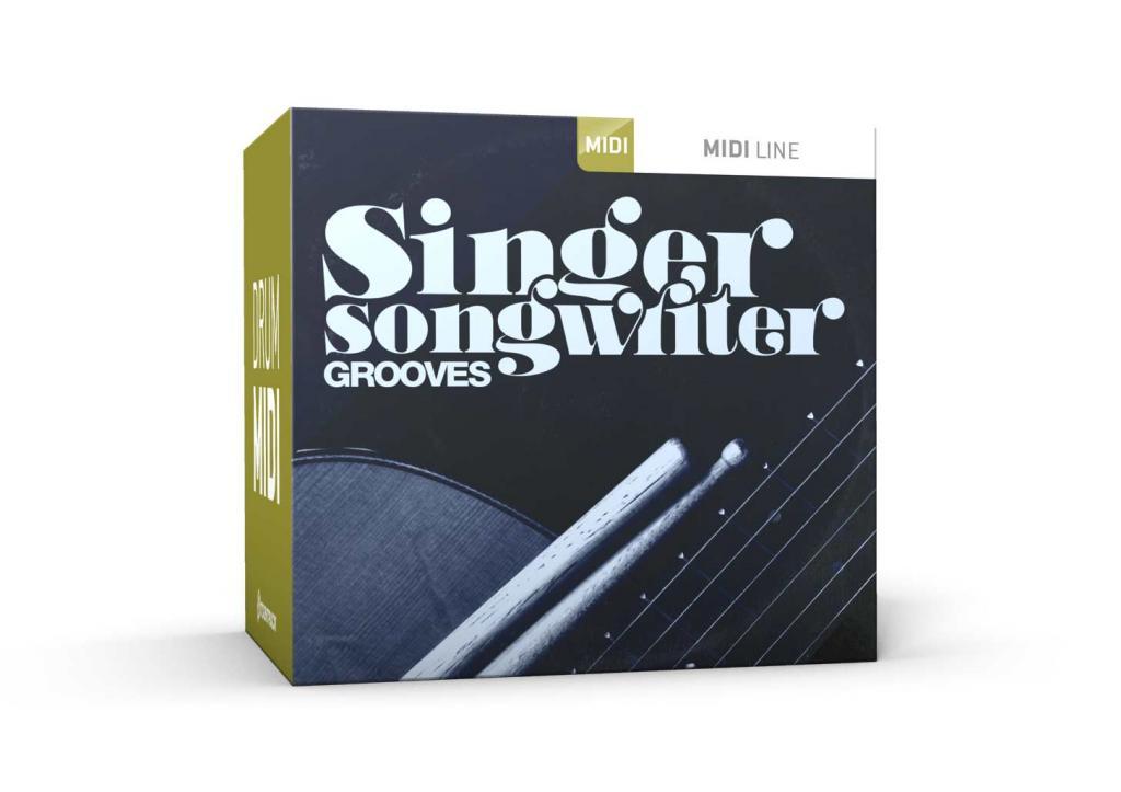 Toontrack Singer Songwriter Grooves MIDI
