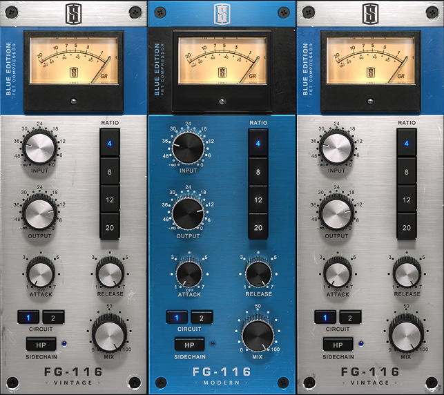 FG-116 Blue Series FET Compressors
