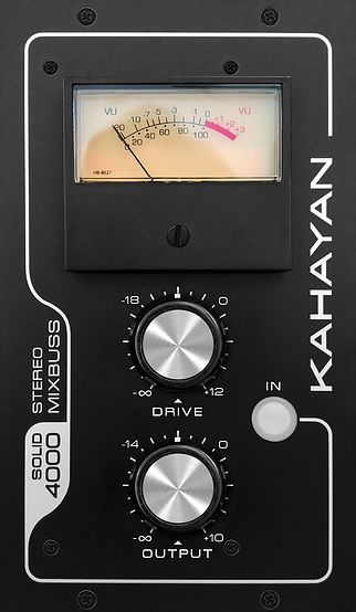 KAHAYAN Proaudio Solid 4000 Stereo MixBuss Processor