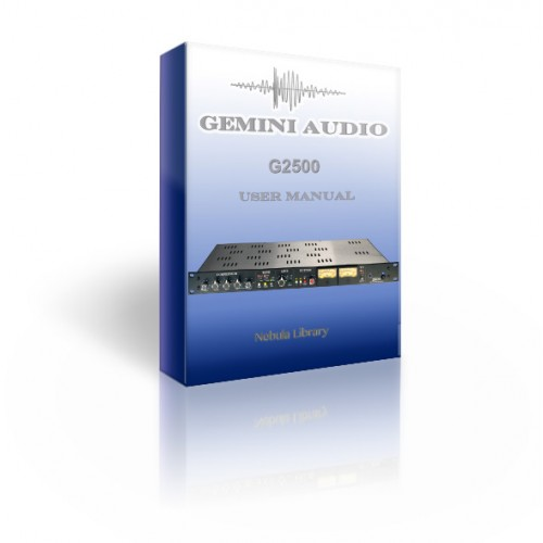Gemini Audio G2500 Compressor library for Nebula