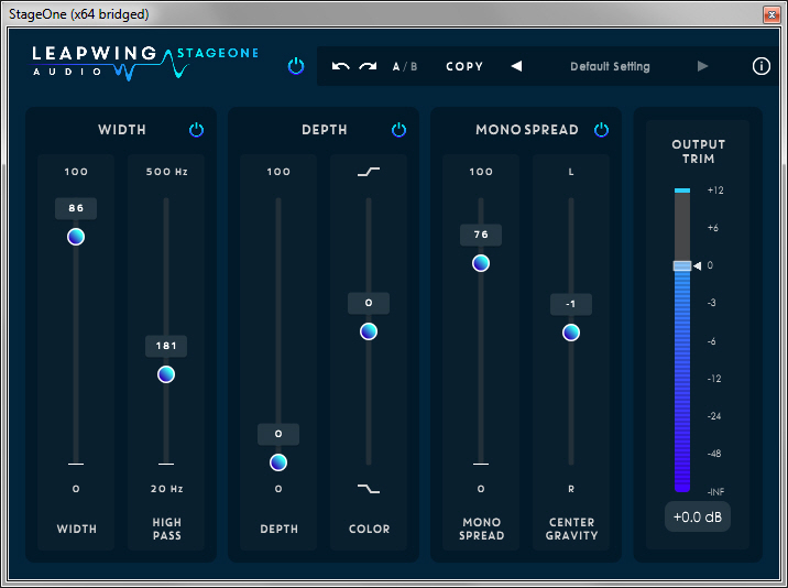 Leapwing Audio StageOne