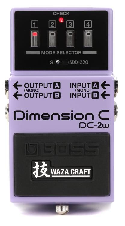 DC-2W Dimension C Waza Pedal