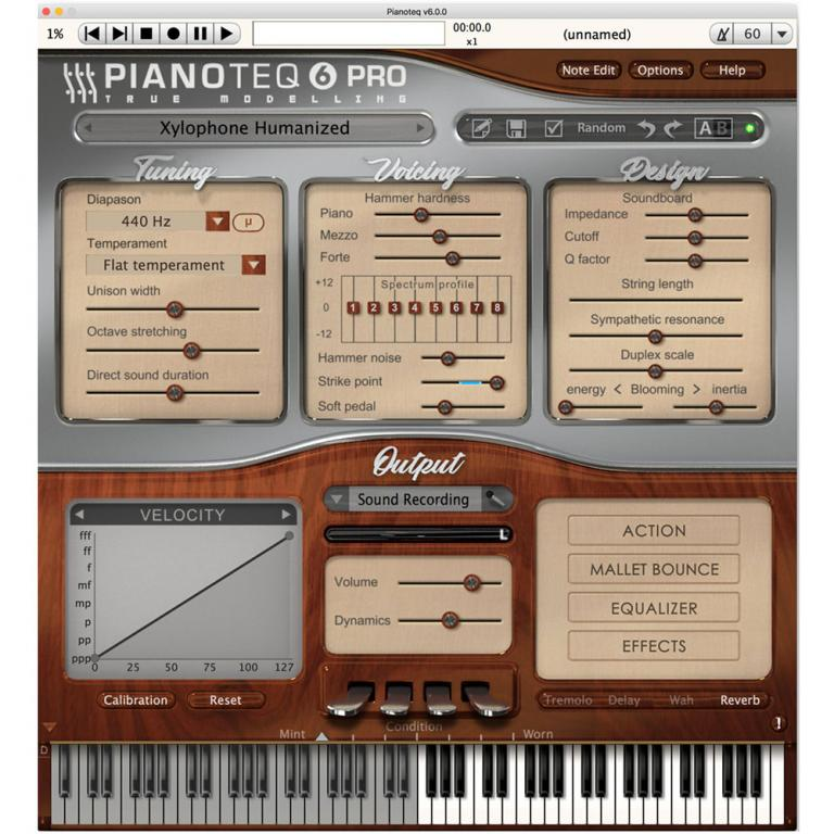 MODARTT Xylophone