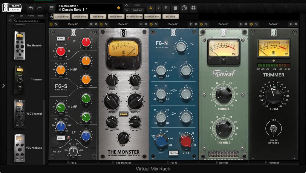 Virtual Mix Rack (VMR) 2.0