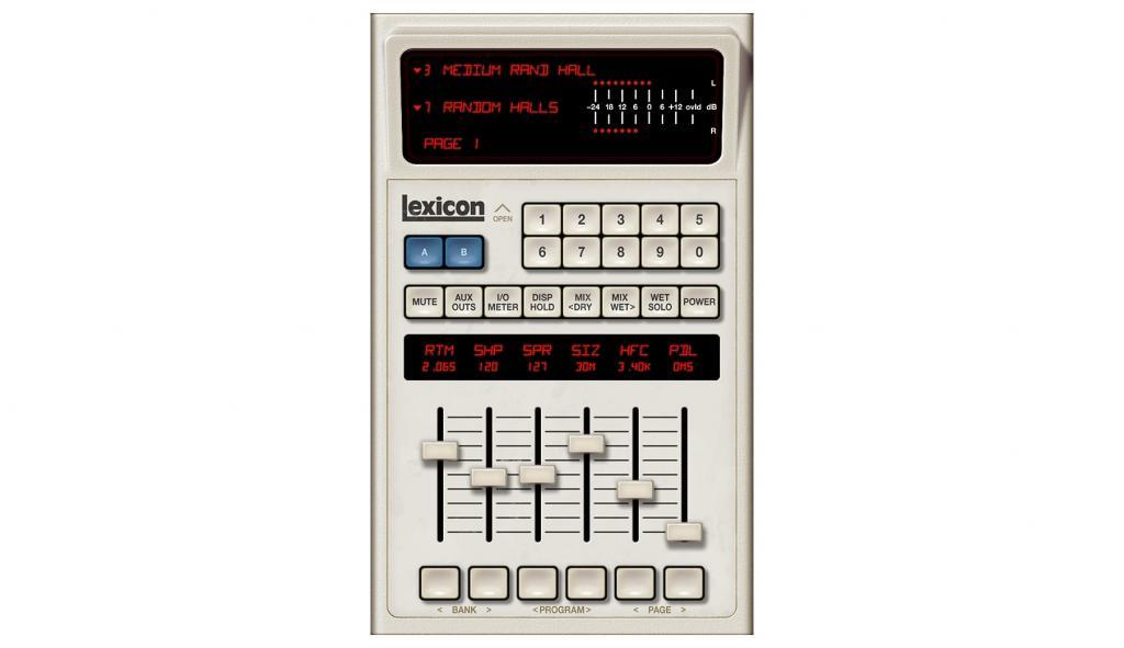 Universal Audio Lexicon 480L reverb