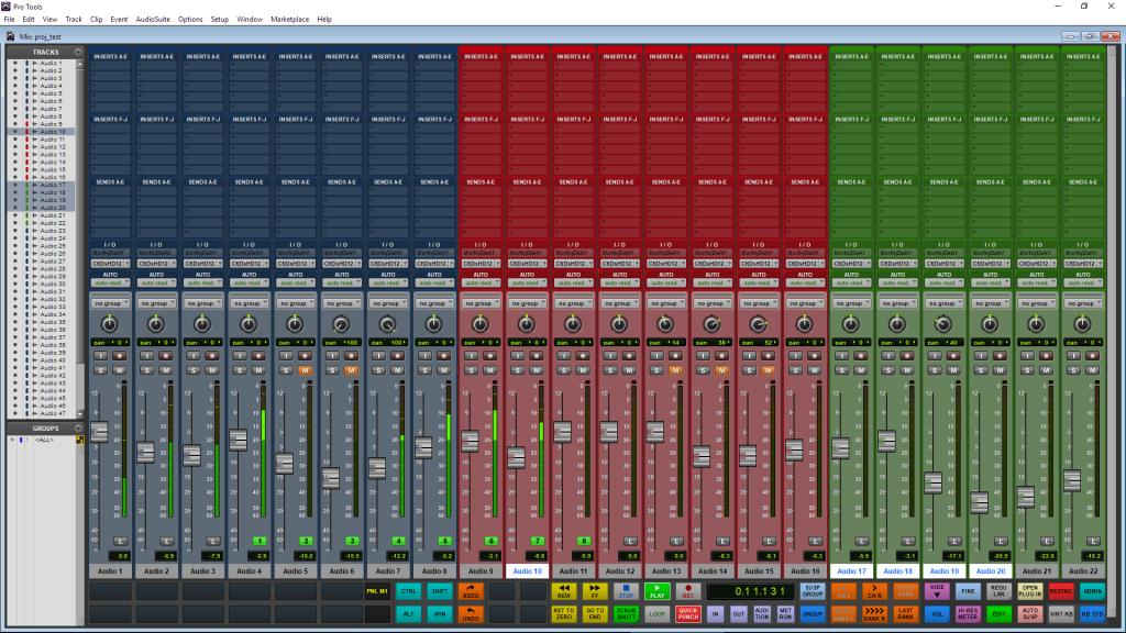 DTouch for Pro Tools V2
