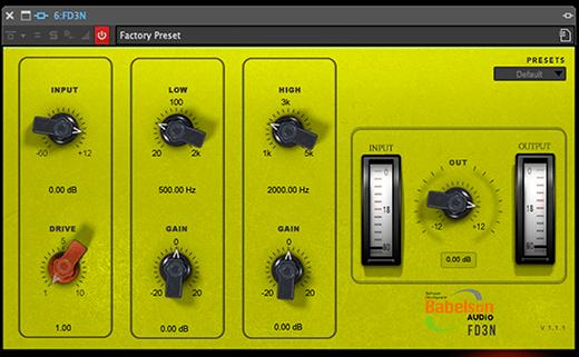 Babelson Audio FD3N