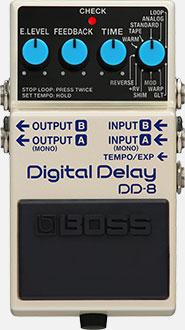 DD-8 Digital Delay Pedal