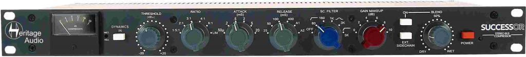 Heritage Audio Successor Stereo Bus Compressor
