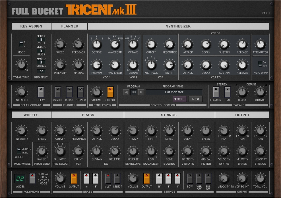 Tricent MKIII