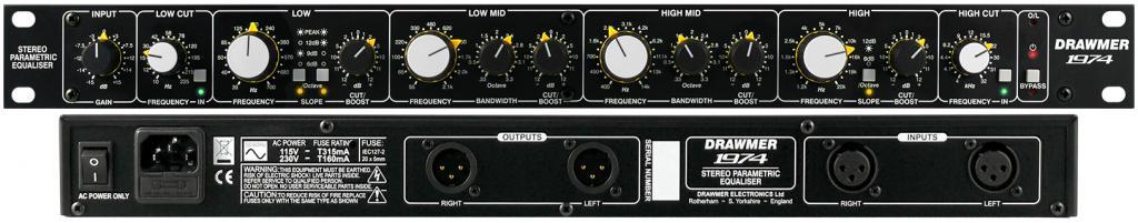 1974 - Stereo Parametric Equaliser