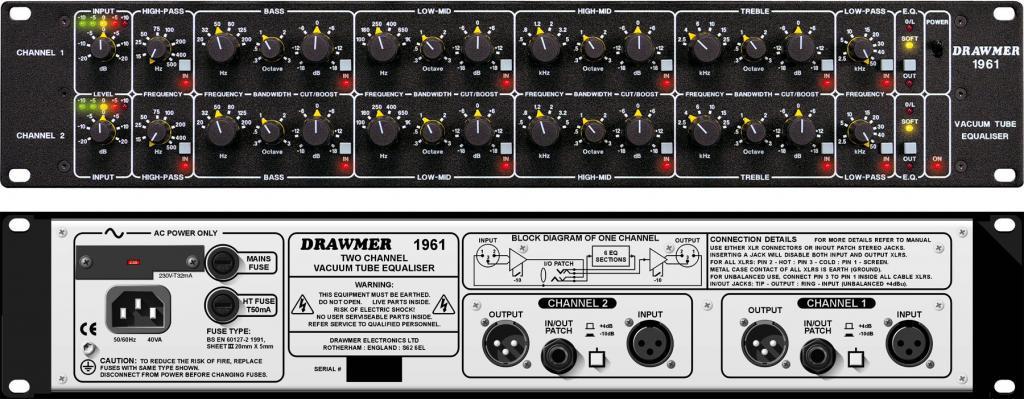 DRAWMER 1961 Tube EQ