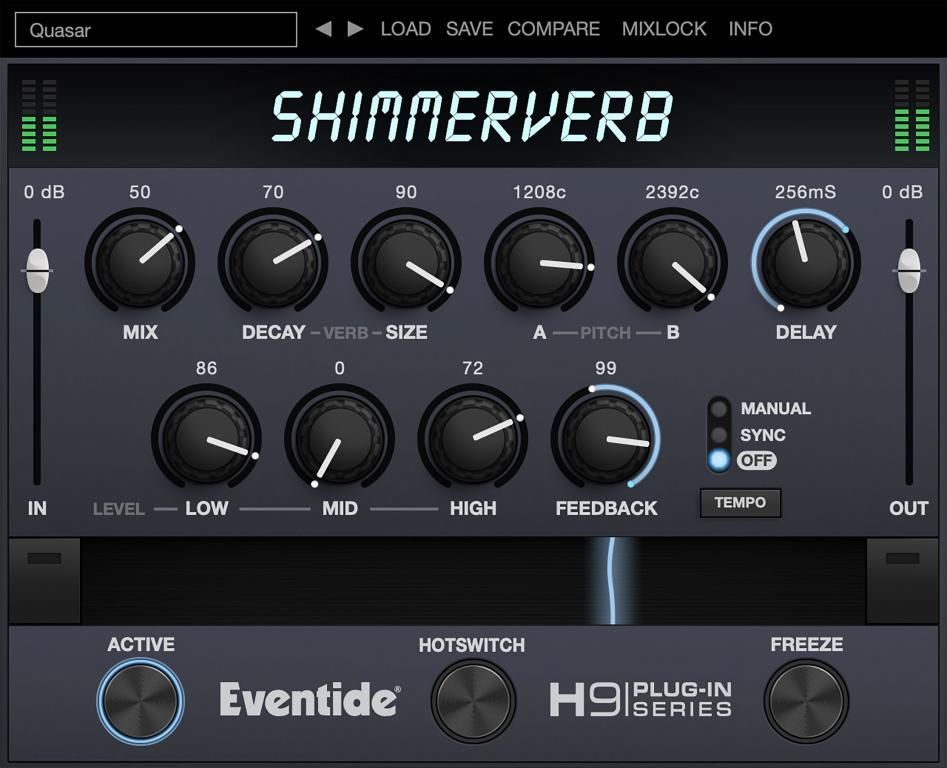 ShimmerVerb Plugin