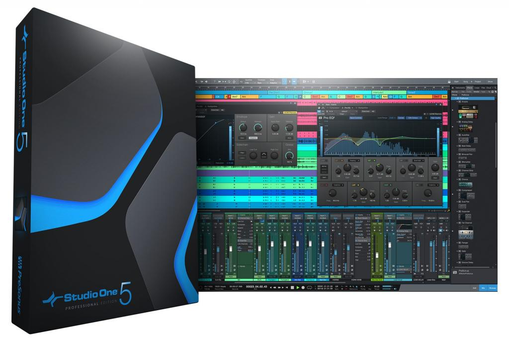 Studio One Professional 5