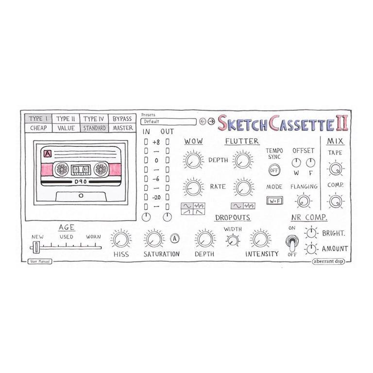 SketchCassette II