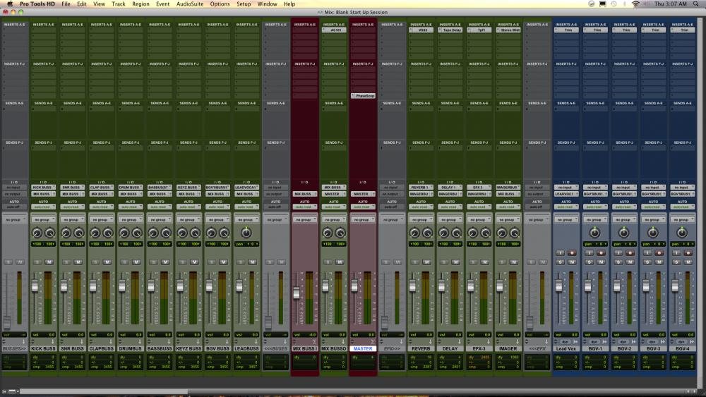 What Is Your Pro Tools Mixing Template Gearslutz