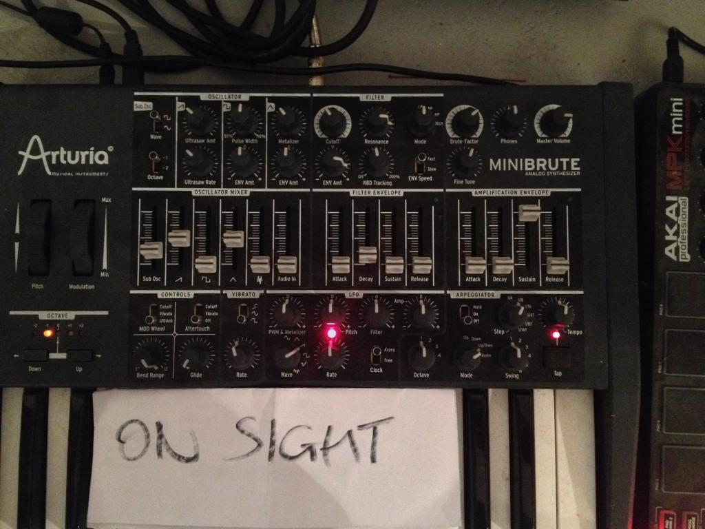 Kanye West - On Sight patch for Minibrute - Gearslutz