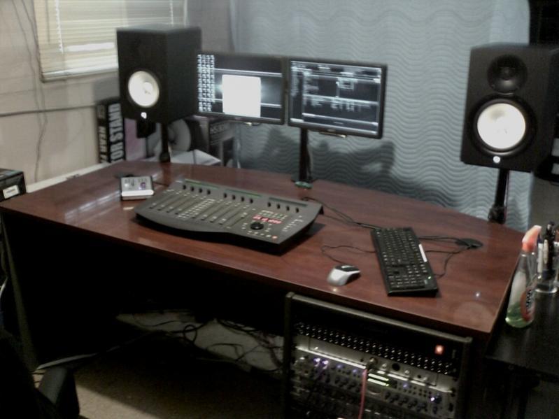 Studio Desks Inspiration Gearslutz Pro Audio Community