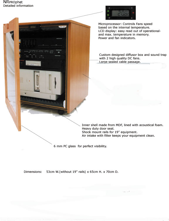 Anyone use an IsoRaxx cabinet to stifle their computer