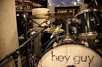 Pictures of Mic'ed Up Drum Kits Captured On Location or During Live Concert Scenarios-17-closeup-my-drummers-right-knee-mic-capturing-entire-kit.jpg