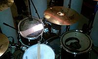 Pictures of Mic'ed Up Drum Kits Captured On Location or During Live Concert Scenarios-17-m88-bass-skin-e602-bass-hole-tlm103-md431-snare-md409-toms-m149-drummers-knee-.jpg