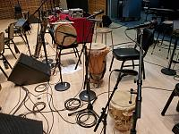 Pictures of Mic'ed Up Drum Kits Captured On Location or During Live Concert Scenarios-82509456_3962025467156196_2789455695383101440_n.jpg