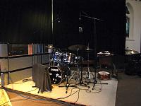 Pictures of Mic'ed Up Drum Kits Captured On Location or During Live Concert Scenarios-04-no-clearsonic-plexiglas-panels-were-harmed-capture-these-live-performance-isolate.jpg