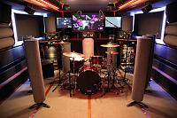 Pictures of Mic'ed Up Drum Kits Captured On Location or During Live Concert Scenarios-14-elroy-became-drum-booth-day.-great-sound-space-drums-.jpg