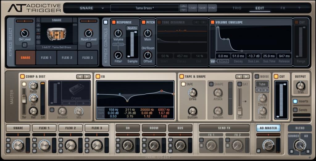 XLN Audio Addictive Trigger - User review - Gearslutz