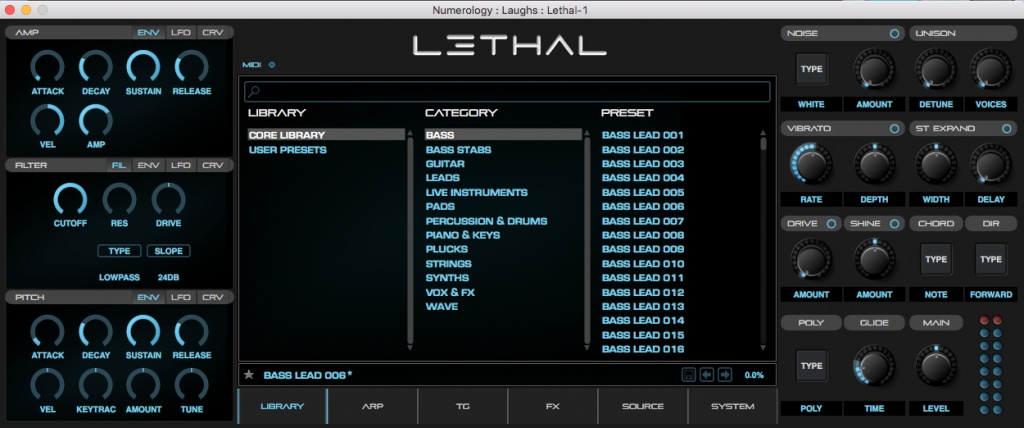 Lethal Audio Lethal