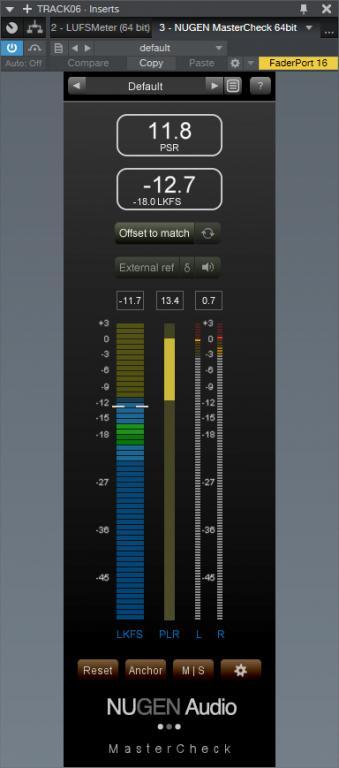 NUGEN Audio MasterCheck - User review - Gearslutz