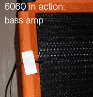 DPA Microphones d:screet 6060 Series Subminiature Microphone-6060-bass-amp.png
