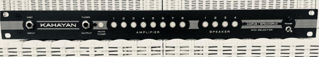 KAHAYAN 8x4 Midi Amp/Speaker selector
