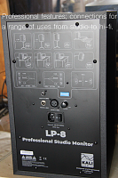 Kali Audio LP-8 Studio Monitor-rear.png