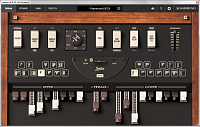 IK Multimedia Hammond B-3X-controls.png