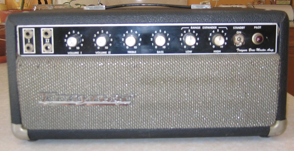 Traynor 1960 S Yba 1 Bass Master Guitar Amp Head Vinyl