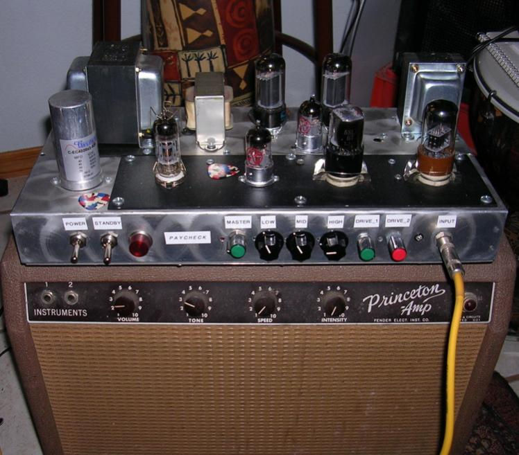 Fender Blackface Princeton Amp Fender Princeton Recording Amp