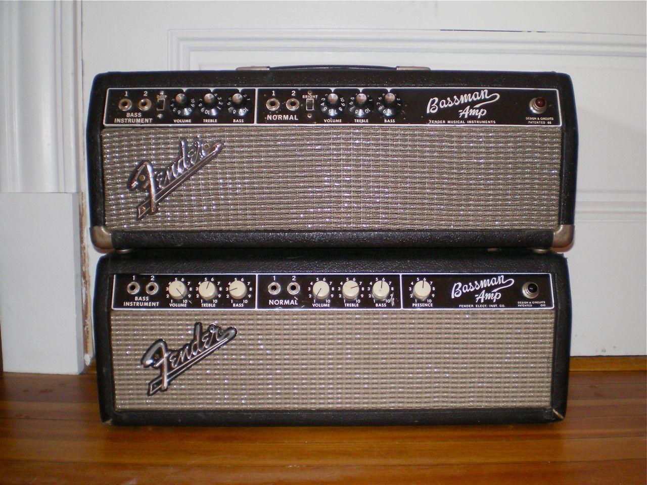 Dating fender bassman amplifier