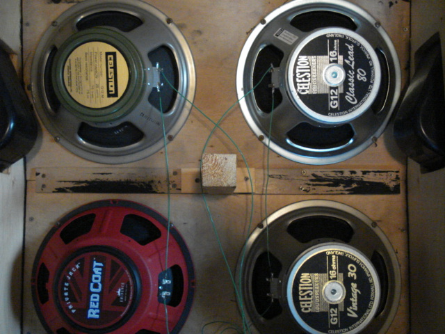 4x12 Speaker Cab Wiring - Technical Diagrams on