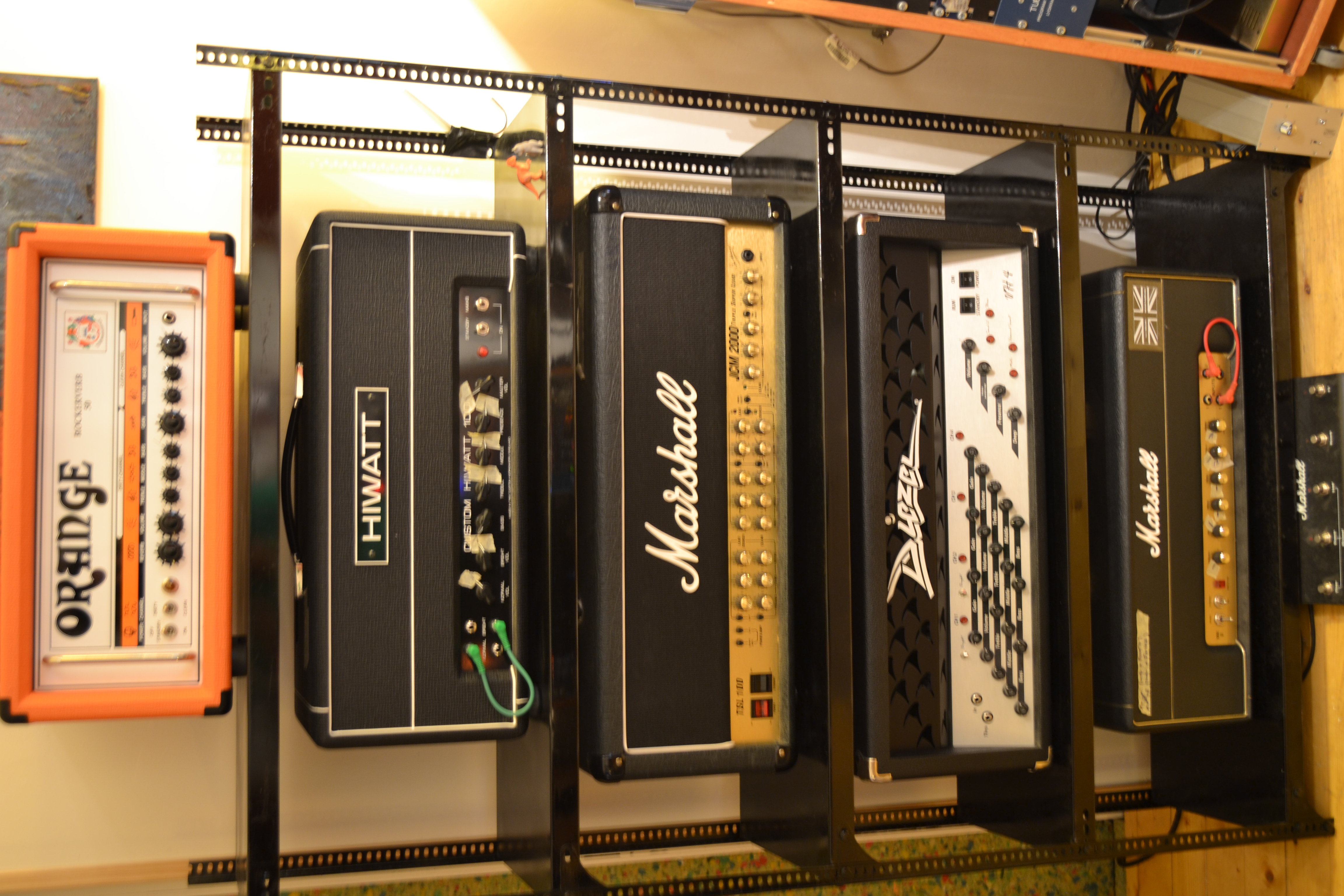 How do you organize your amp heads? - Gearslutz Pro Audio Community