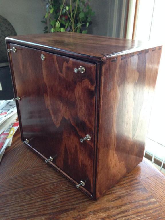 birch cabinet