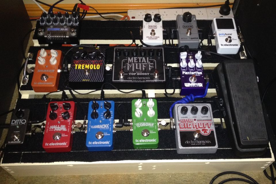 guitarists show me your pedalboard page 49 gearslutz. Black Bedroom Furniture Sets. Home Design Ideas