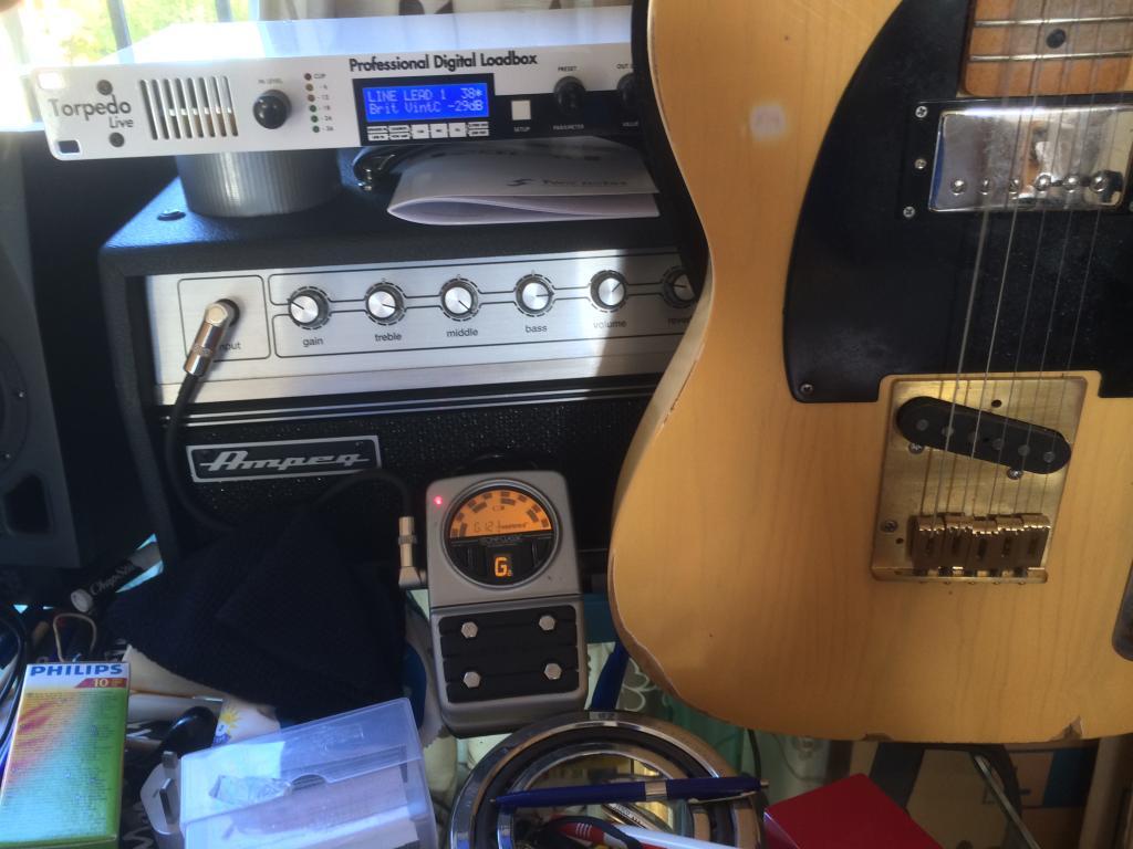 anyone using classic amp head load box cab emulation headphone output. Black Bedroom Furniture Sets. Home Design Ideas