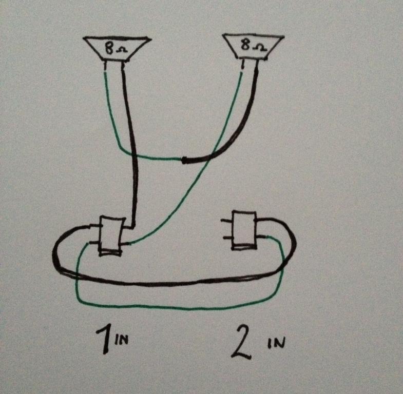 Wiring Diagram For Guitar Speaker Cabinet Speaker Cabinet Wiring