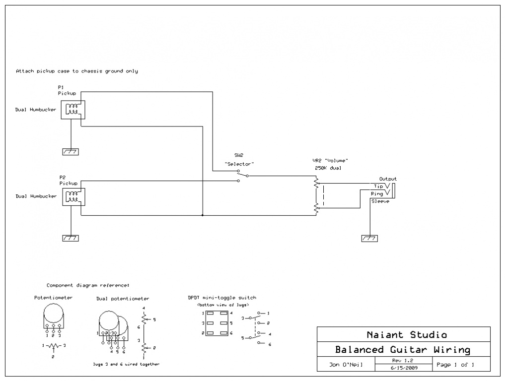 onboard buffer circuit for balanced output guitar gearslutz pro onboard buffer circuit for balanced output guitar balanced guitar wiring simplified jpg