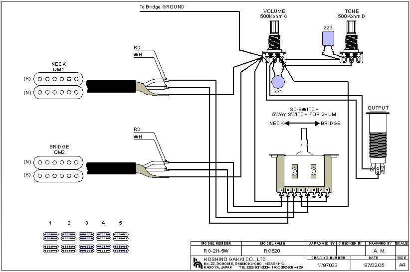 ibanez rg550 wiring diagram   27 wiring diagram images