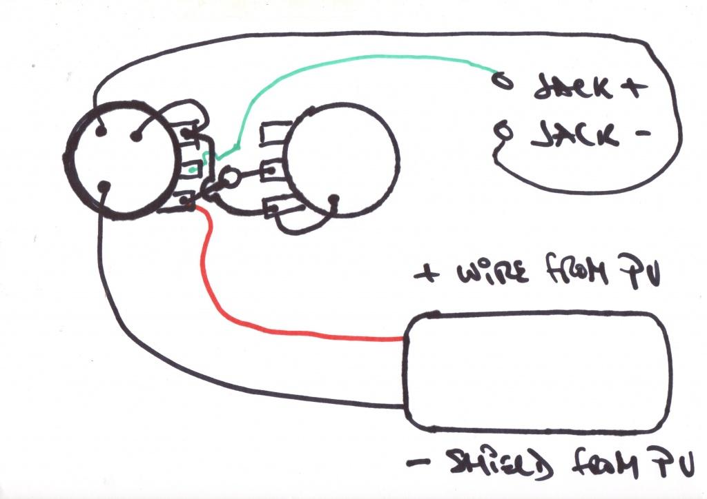 harmony h1 or h601 lap steel guitar wiring diagram