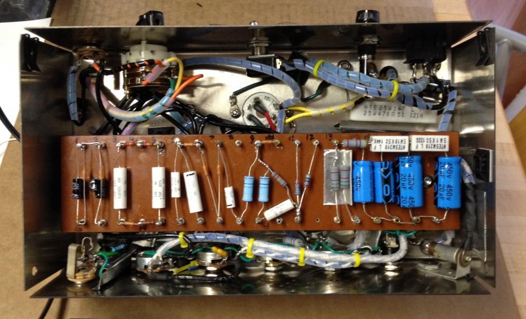 No Frills vintage Fender-amp clone - Gearslutz