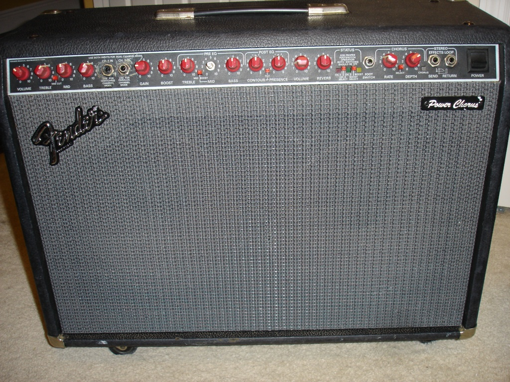 Here Is A Second Hand Fender Super Sonic 60 212 2x12 120watt Extention Cab For Electric Guitar Lifiers This Features 2x Celestion Vine 30